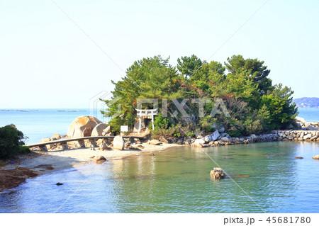 箱島神社 海に浮かぶパワースポット神社(福岡県糸島市) 45681780