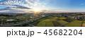 空撮 見沼田んぼ さいたま新都心の写真 45682204