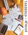 建築士 建築家 設計士の写真 45686991