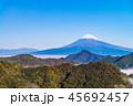 富士山 風景 晴れの写真 45692457