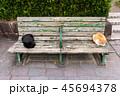 猫とベンチ 45694378