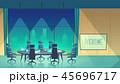 オフィス デスク 空間のイラスト 45696717