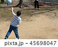 ドッチボールの練習 45698047