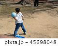 ドッチボールの練習 45698048