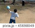 ドッチボールの練習 45698049