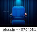 シネマ 映画館 シートのイラスト 45704031