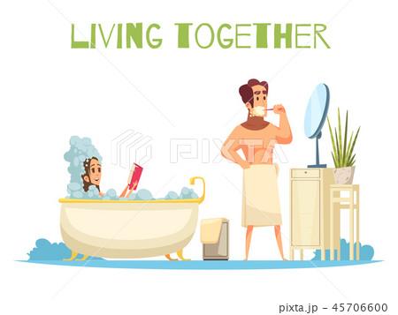 Living Together Concept 45706600