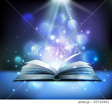 Magic Book Realistic Image 45710461