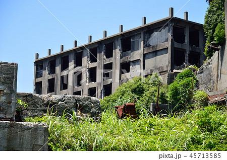 軍艦島 端島 長崎 世界遺産 5 45713585