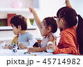 教室 教室風景 絵の写真 45714982