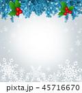 雪 背景 コピースペースのイラスト 45716670