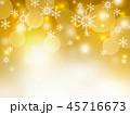 雪の結晶 雪 背景のイラスト 45716673