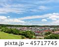 青空 夏 住宅街の写真 45717745