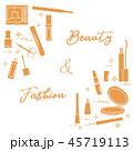 メイクアップ 化粧 お化粧のイラスト 45719113