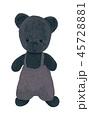 おもちゃ くま クマのイラスト 45728881