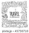 インドネシア イラスト イラストレーションのイラスト 45730710