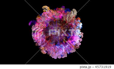 Color smoke, explosion, shockwave effect 45731919
