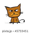 ねこ ネコ 猫のイラスト 45733451