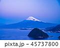 富士山 海 駿河湾の写真 45737800
