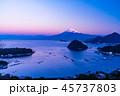 富士山 海 駿河湾の写真 45737803