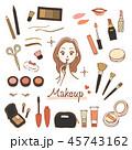 メイクアップ 化粧品セット 45743162