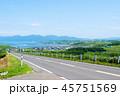 風景 晴れ 厚田の写真 45751569
