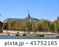 パリ、セーヌ川の景色 45752165