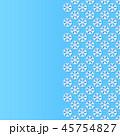 スノーフレーク 雪片 雪花のイラスト 45754827