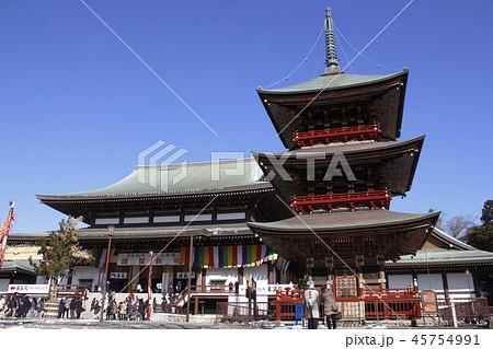 初詣時の成田山新勝寺にて 45754991