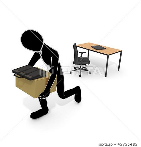 会社をクビになる / 解雇される人 / 仕事がなくなる 45755485