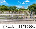 桜門橋 姫路城 城の写真 45760991