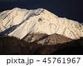 山 冬 大山の写真 45761967