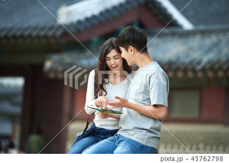 景福宮 旅行 地図 45762798