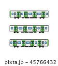 電車 列車 乗り物のイラスト 45766432