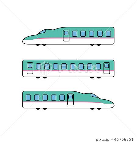 東北新幹線のイラスト素材 45766551 Pixta