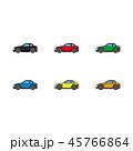 車 自動車 乗り物のイラスト 45766864