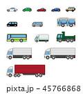 車 自動車 乗り物のイラスト 45766868