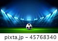 サッカー フットボール 蹴球のイラスト 45768340
