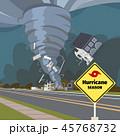 ハリケーン イラスト イラストレーションのイラスト 45768732