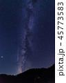 「宮城県」潟沼からペルセウス座流星群 45773583