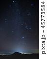 「岩手県」八幡平アスピーテライン展望台からの星空と夜景 45773584