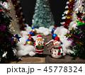 クリスマス 飾り メリークリスマスの写真 45778324