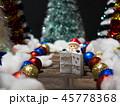 クリスマス 飾り メリークリスマスの写真 45778368