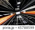 IT テクノロジーイメージ 少し斜め 黒 45788599