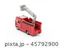 消防車 消防自動車 おもちゃの写真 45792900
