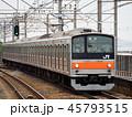 武蔵野線 電車 乗り物の写真 45793515