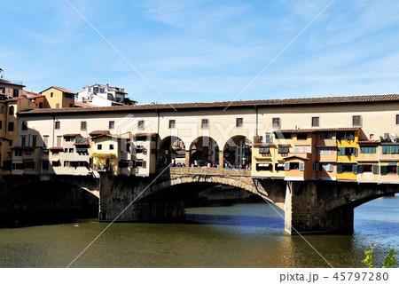 Ponte Vecchio ヴェッキオ橋 フィレンツェ 45797280