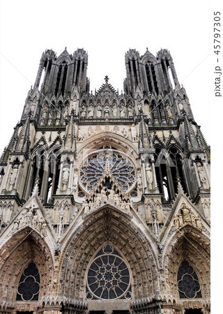 Cathedrale Notre-Dame de Reims ランス・ノートルダム大聖堂 45797305