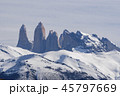 Granite towers at Torres del Paine national park of Chile 45797669