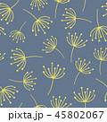 フローラル 抽象的 ベクターのイラスト 45802067